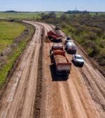 Productores destacaron los trabajos que realiza la provincia para la reconstrucción de la ruta 33