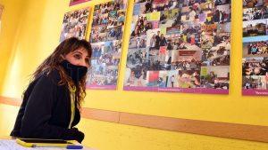 El aula de la tragedia de Carmen de Patagones hoy es un espacio «para honrar la vida»