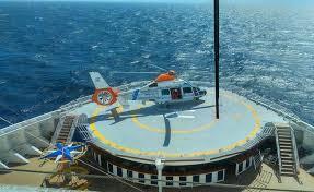 Emergencia en el mar: Prefectura aeroevacuó a dos pasajeros de un ...